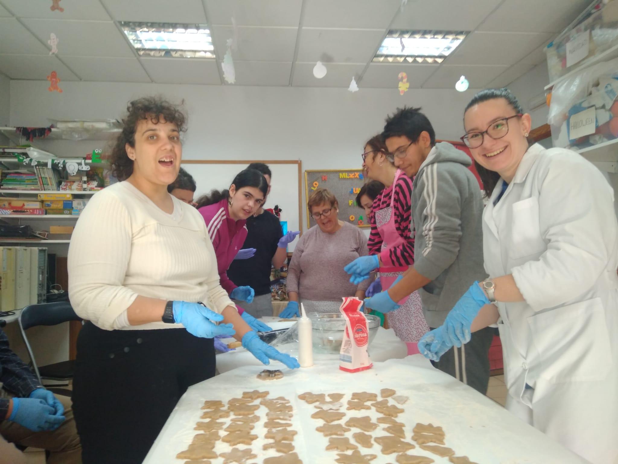 Llega la Navidad al Centro de Día de Fundación AFIM en Murcia