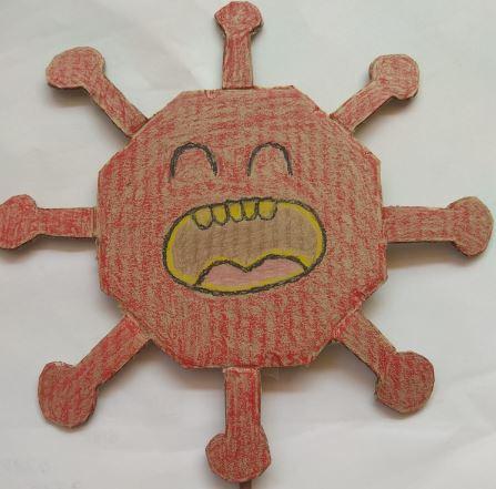 Marionetas sobre el coronavirus en Fundación AFIM Málaga