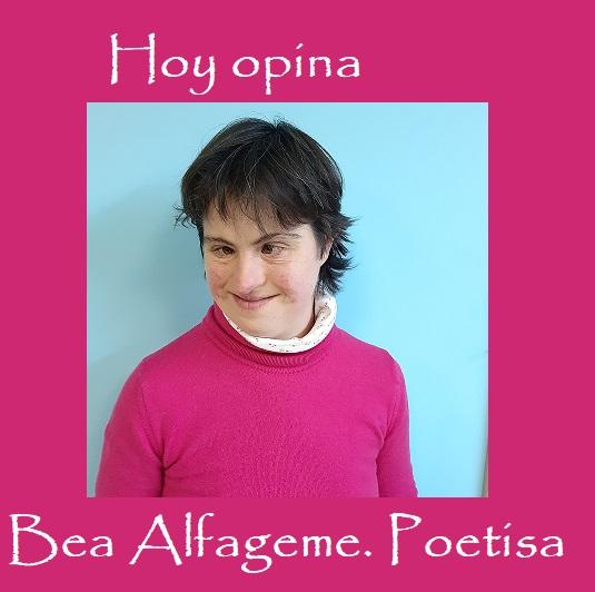 Bea, nuestra poetisa de Fundación AFIM Salamanca, escribe sobre el coronavirus