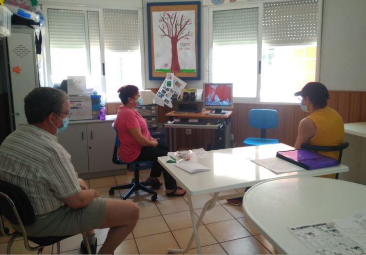 El Centro de Día de Fundación AFIM en Murcia recupera poco a poco la normalidad