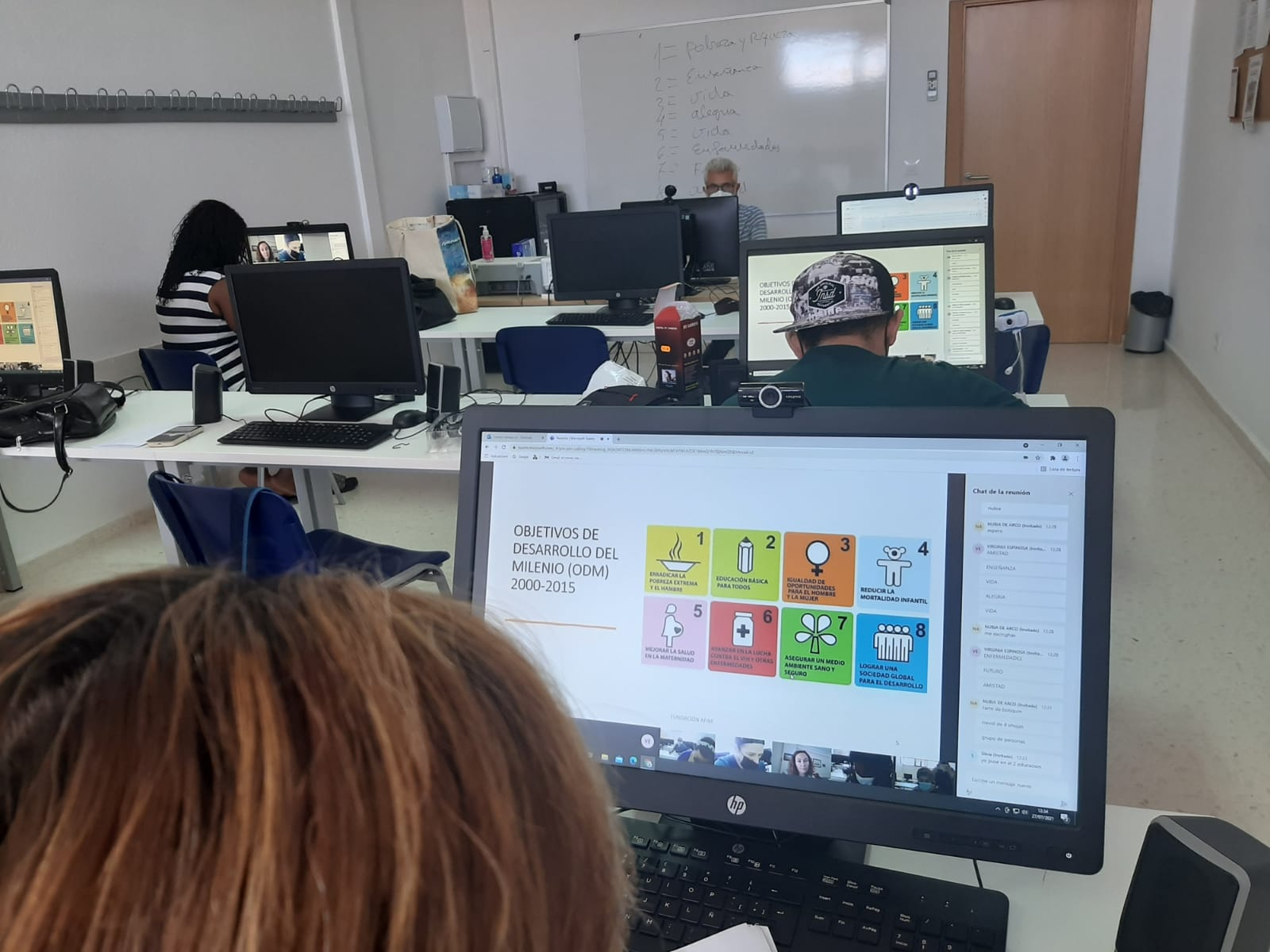 Taller de Objetivos de desarrollo sostenible en Fundación AFIM Valdepeñas